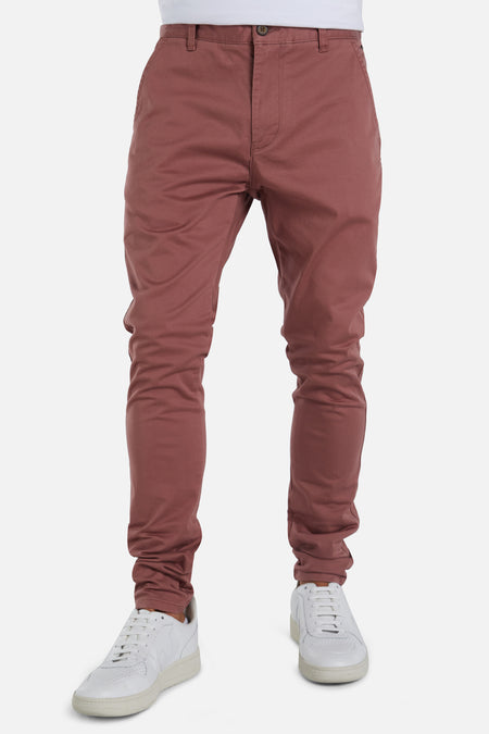 The Cuba Chino Pant - Terracota 20