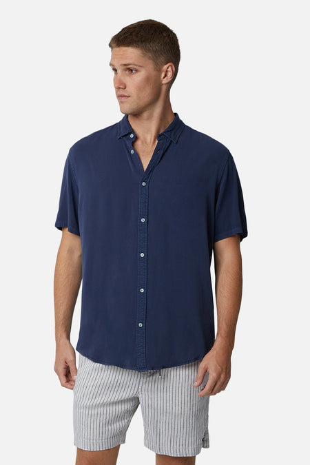 The Monello S/S Shirt - Navy