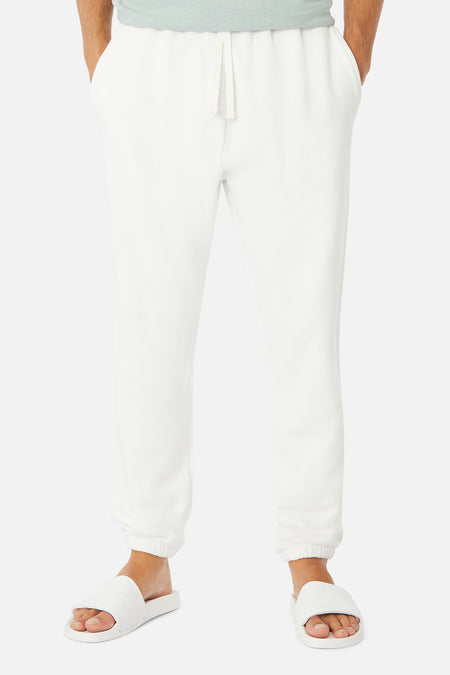 The Del Sur Track Pant - Winter White