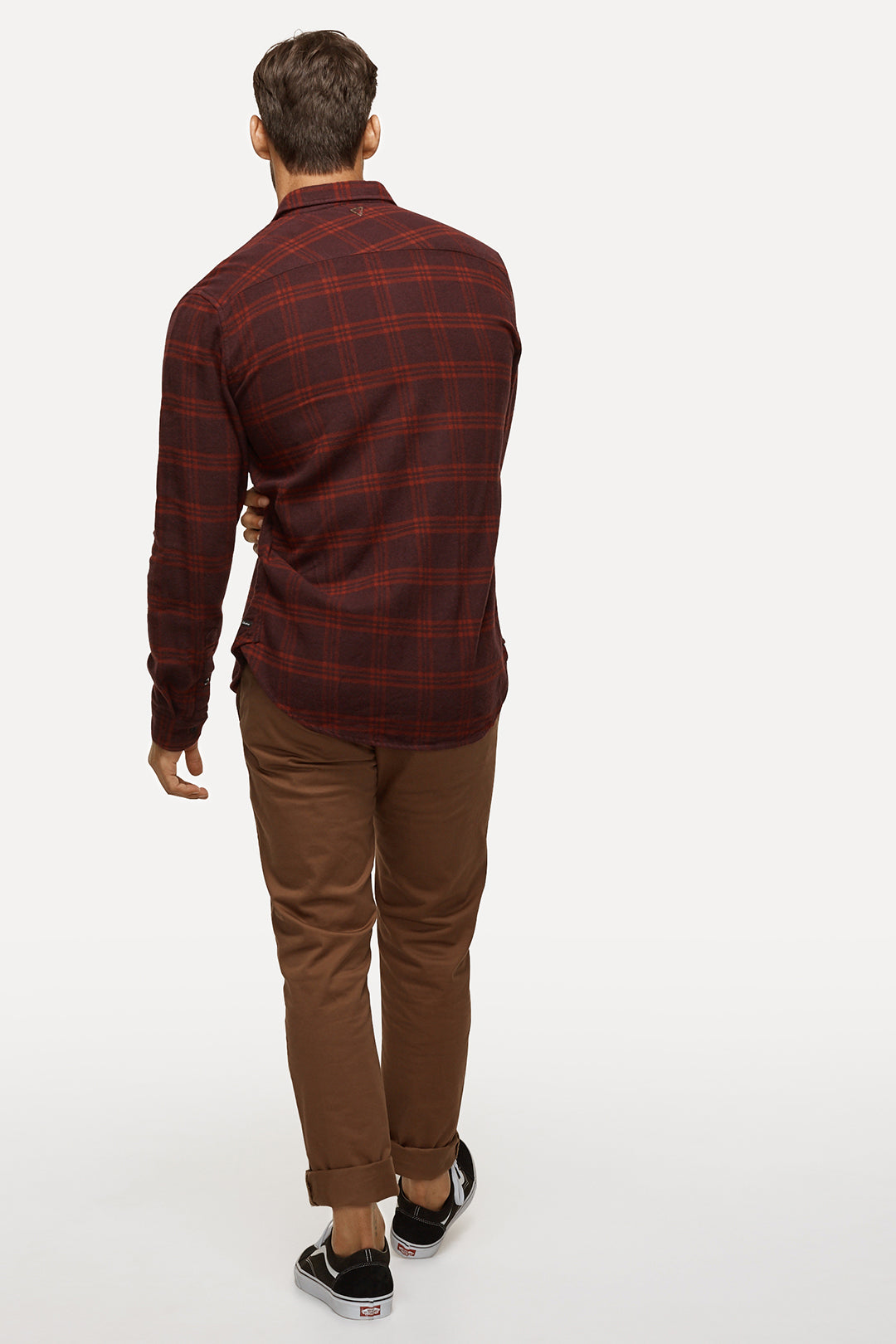 The Coyote L/S Shirt - Burgundy