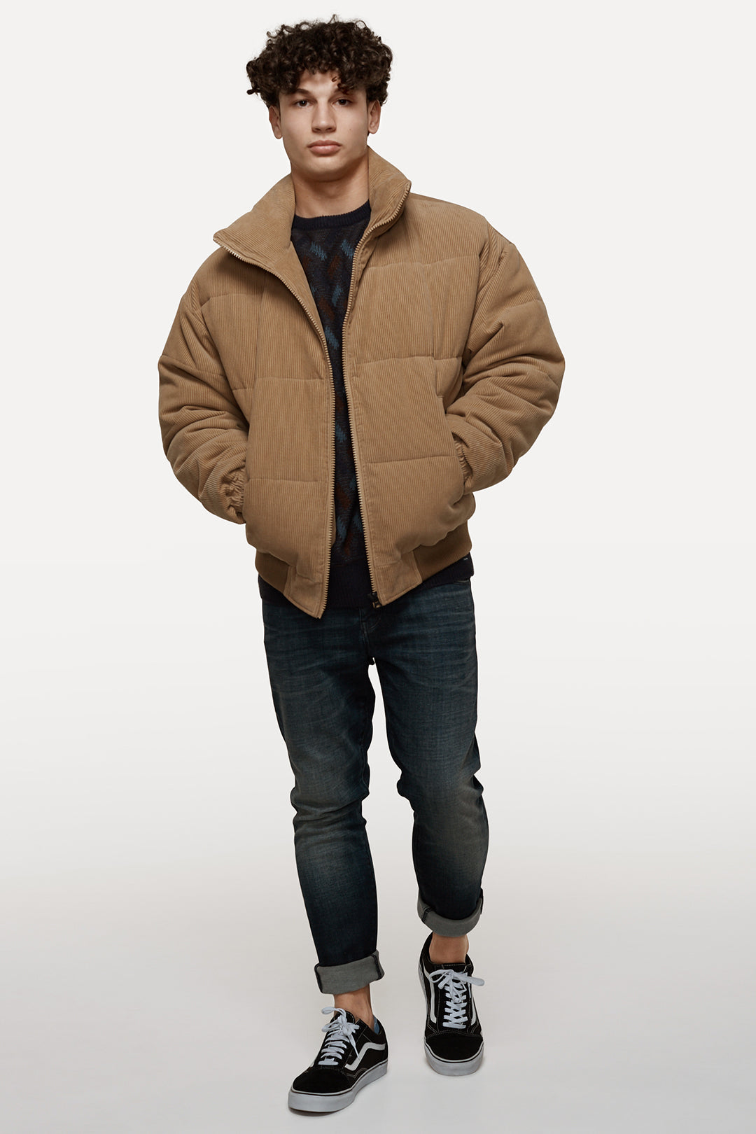 The Ye Cord Jacket - Camel