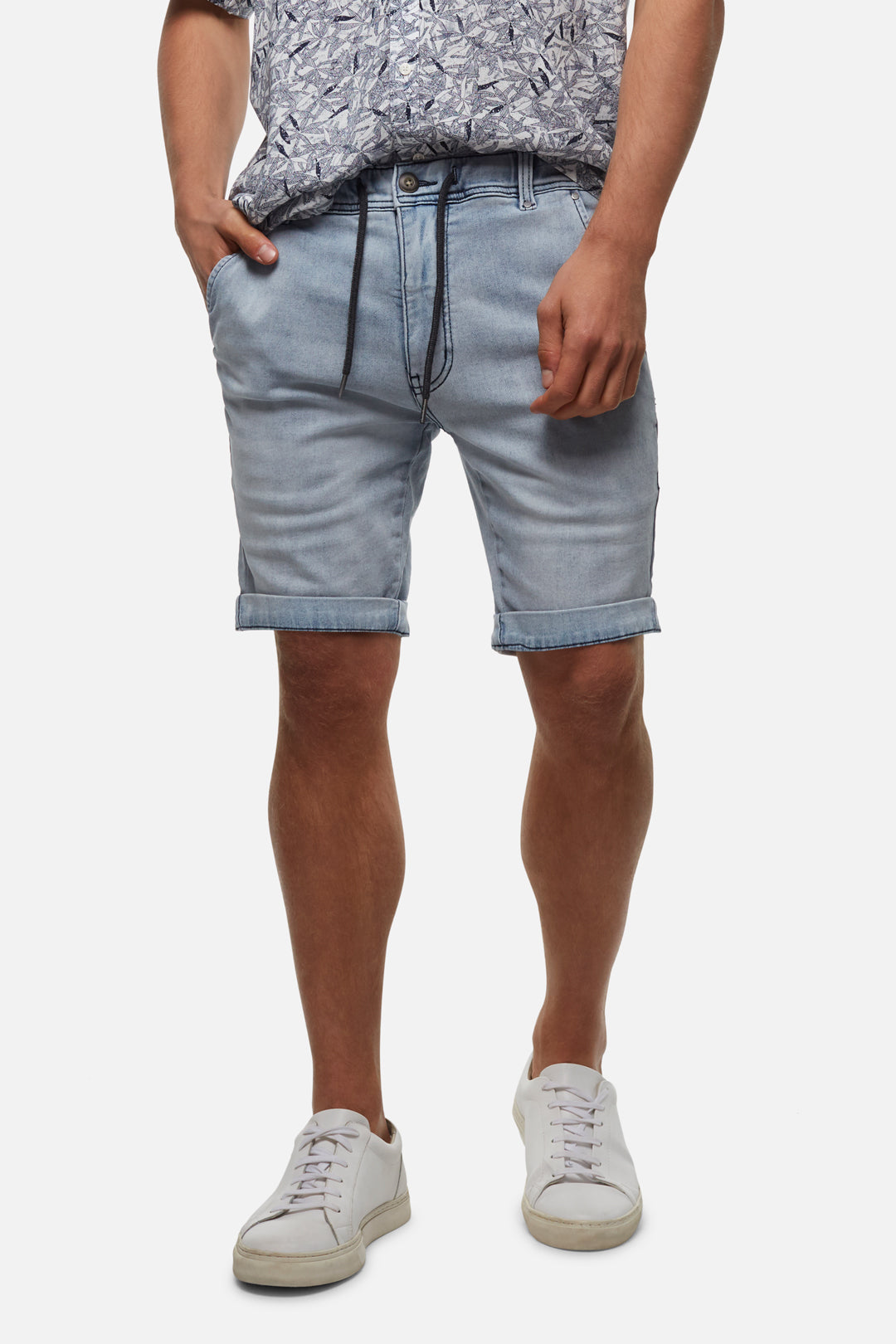 The Drifter Denim Short - Siberian