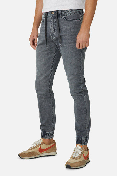 The Drifter Denim Pant - Asphalt