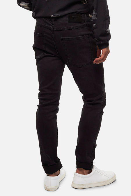 The Tailor Jean (Fit B) - Washed Black