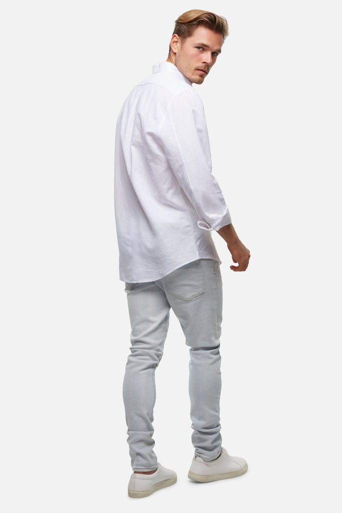 The Rickard Shirt - White
