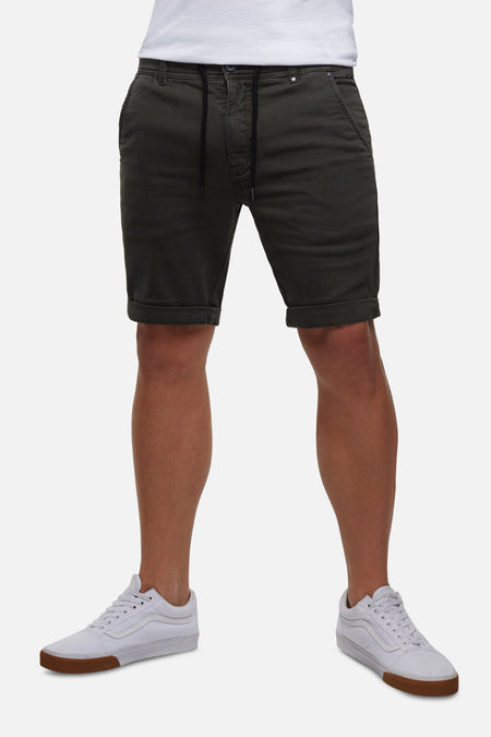 The Drifter Cuba Short - Dark Khaki