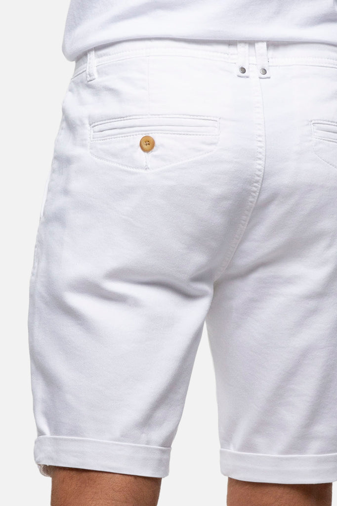 The Drifter Cuba Short - White