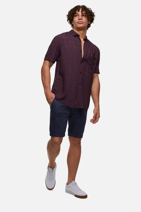The Drifter Cuba Short - Washed Indigo
