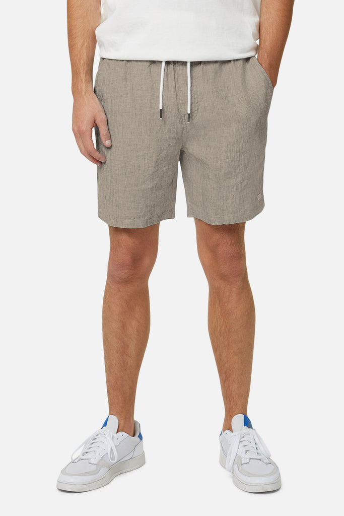 The Marina Linen Short - Yd Sand