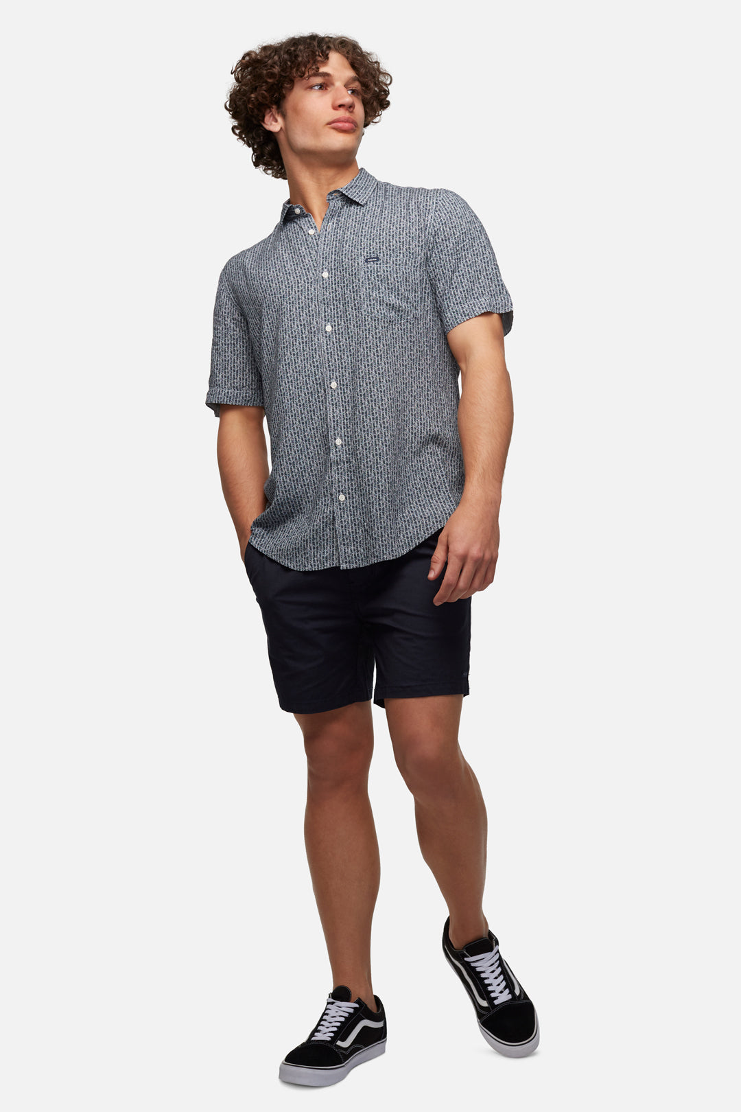 The Bahama Angler - Navy