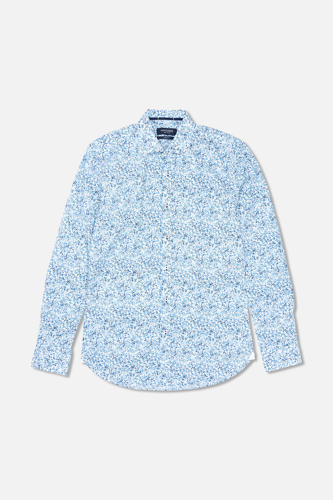 The Ivy L/S Shirt - Blue Green