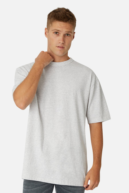 The Del Sur Tee - New Marle Grey