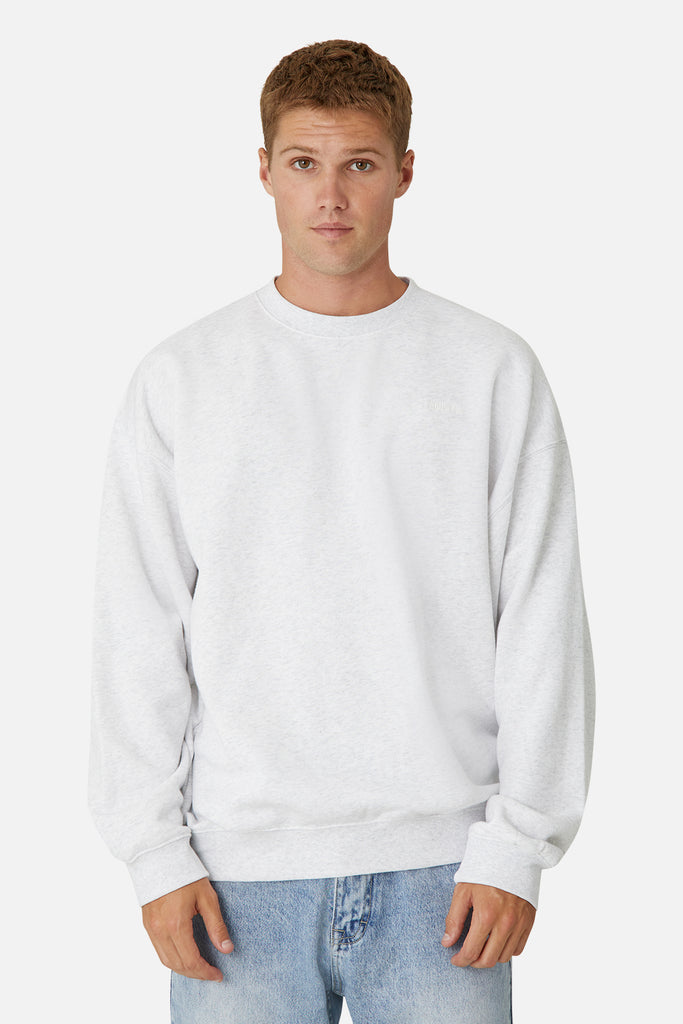 The Del Sur Sweat - Ice Grey Melange