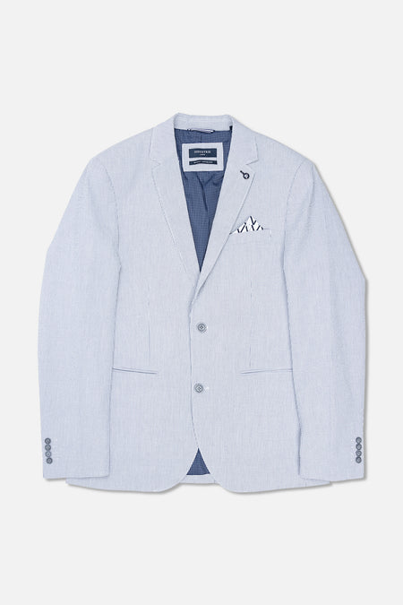 The Cox Blazer - Greywhite