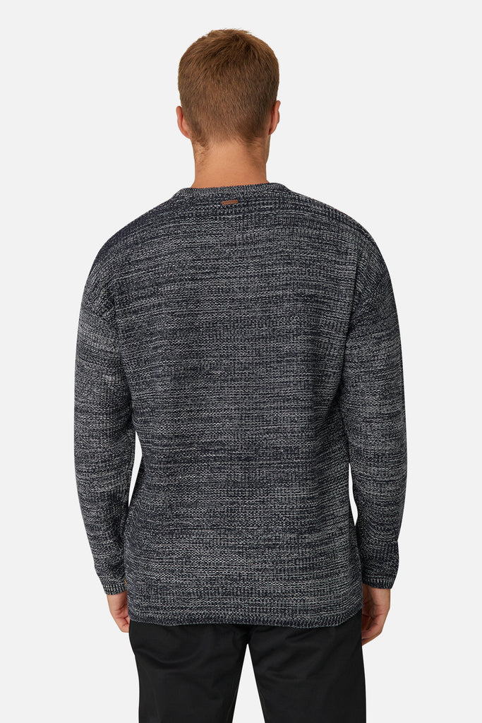 The Westerpark Knit - Navy White