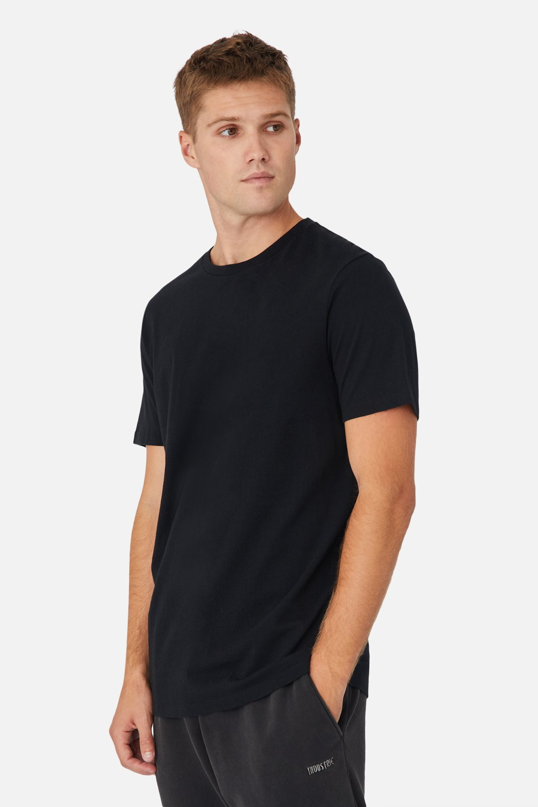 The New Basic Crew Tee - Black