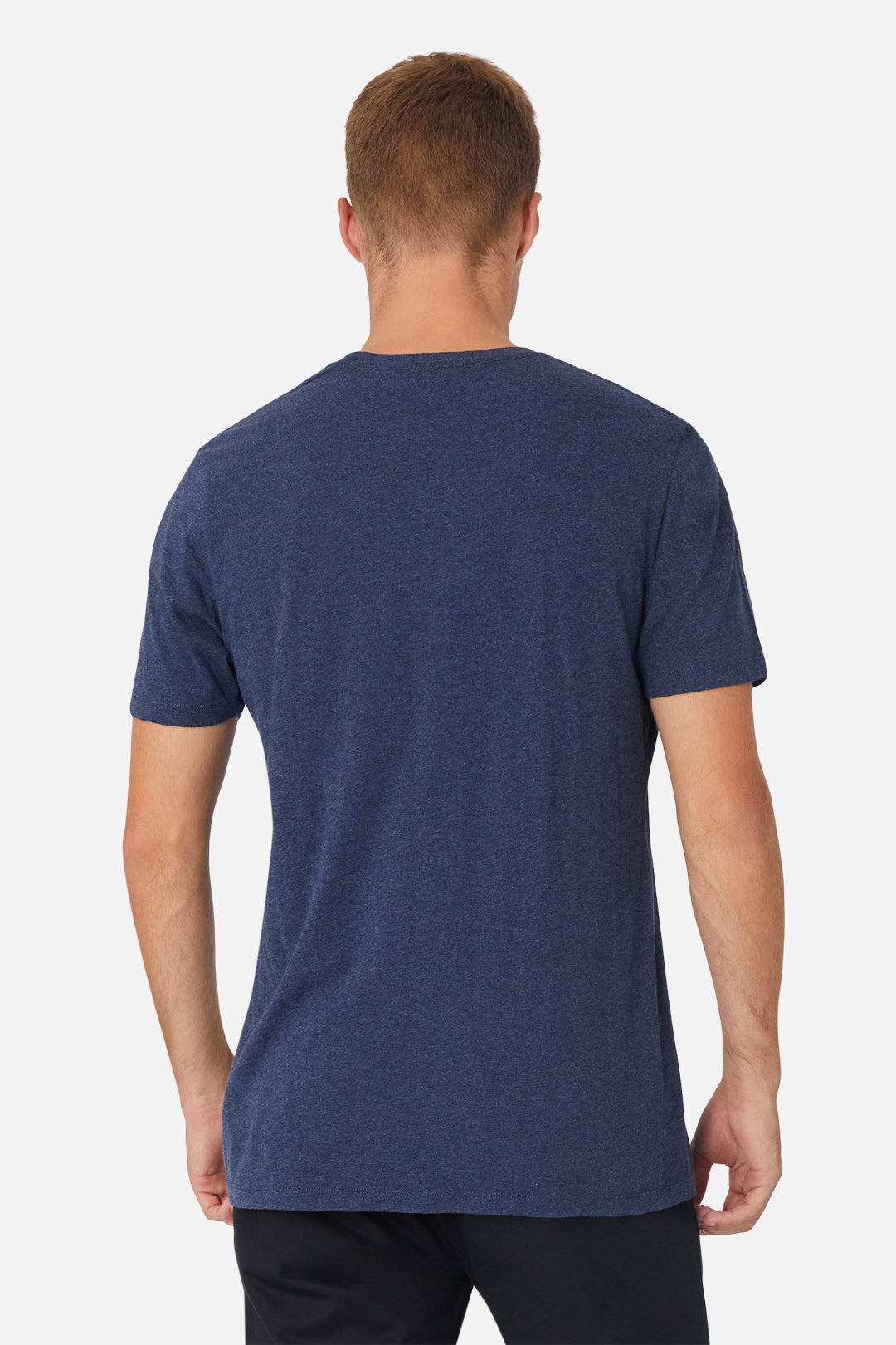 The New Basic Crew Tee - Navy Marle