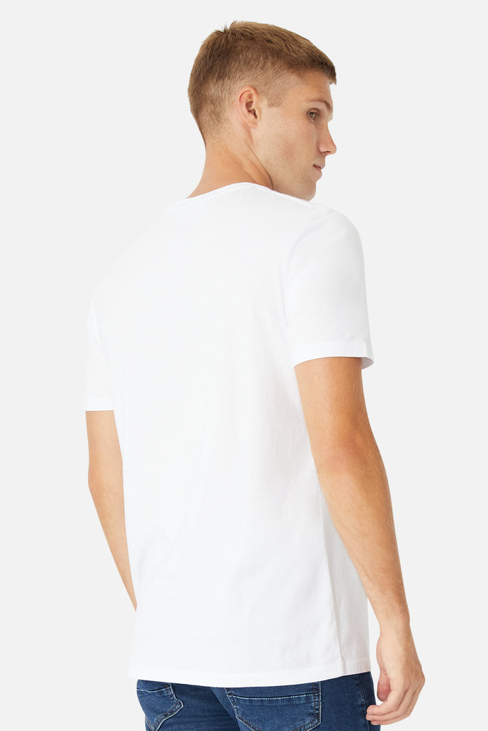 The New Basic Crew Tee - White