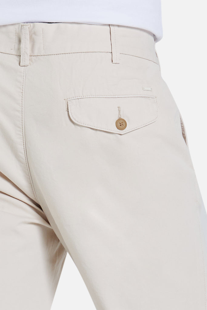 The Deck Chino Pant - Egg Shell