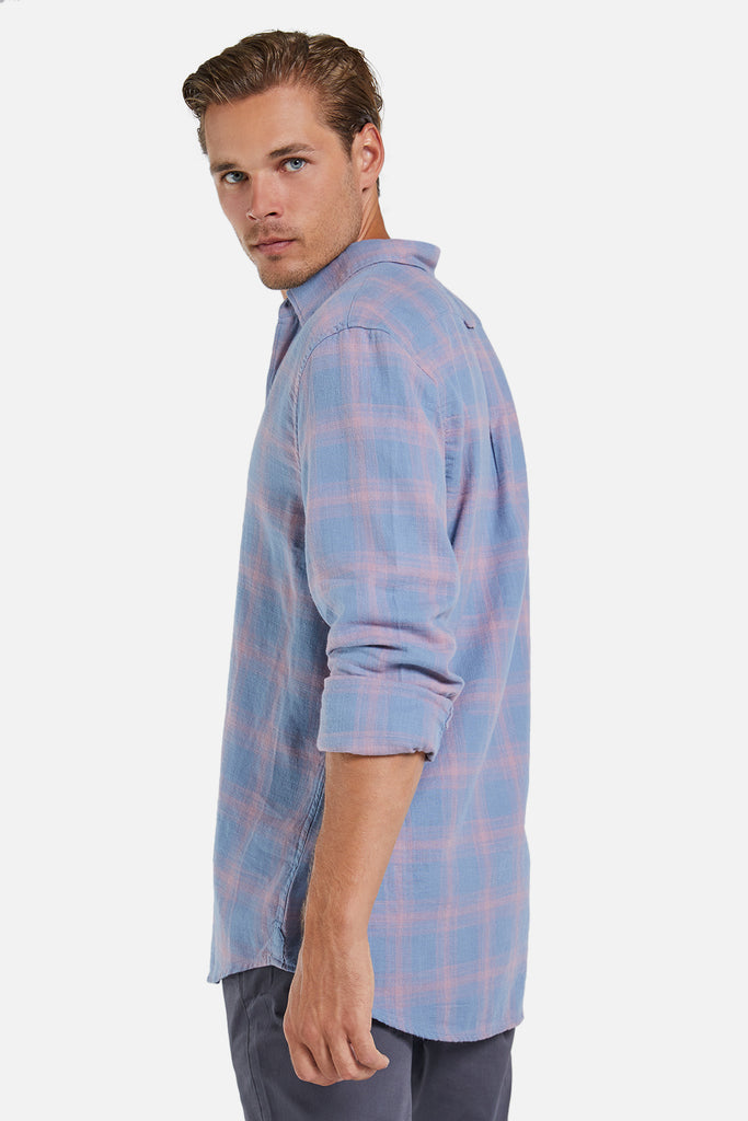 The Lewiston L/S Shirt - Chambray Pink