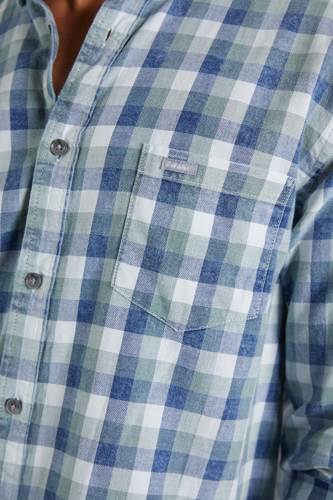 The Horsham Shirt - Navy Mint