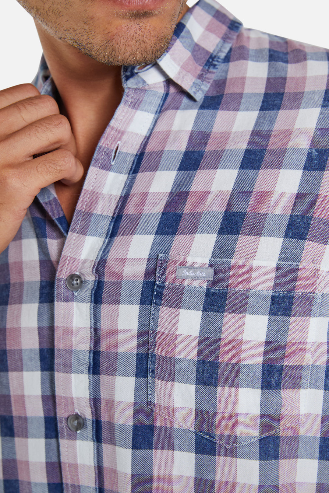 The Horsham Shirt - Pink Blue