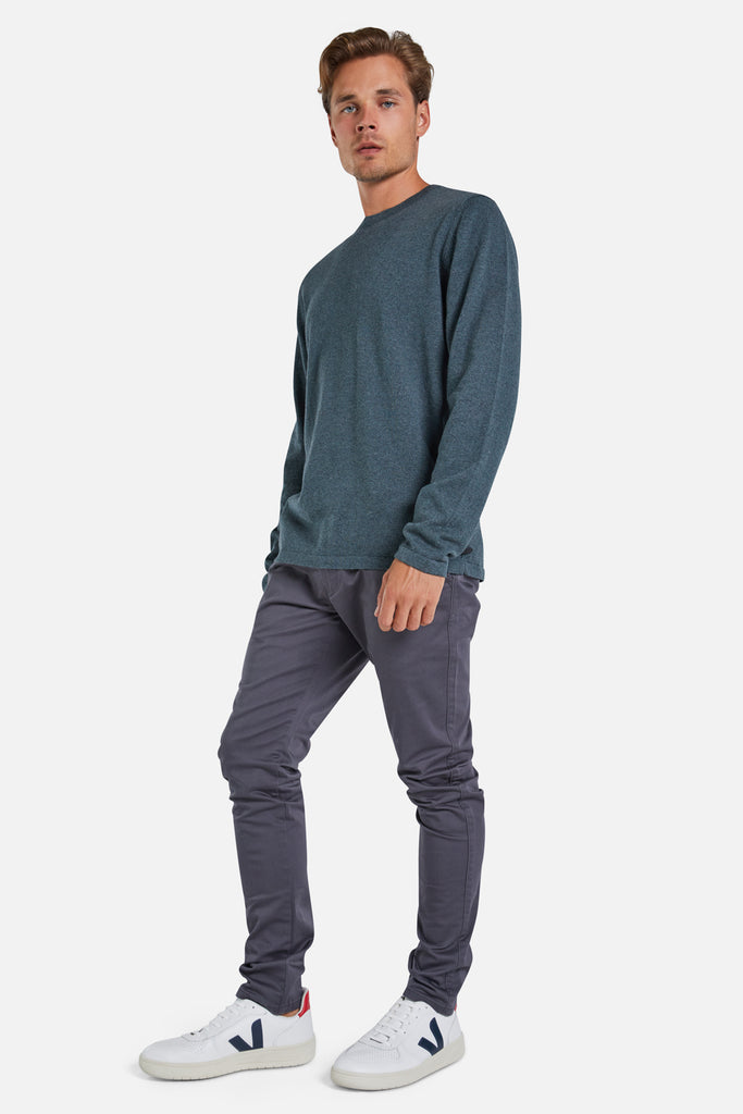 The Cashmere Blend Knit - Forest