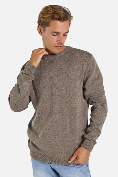 The Diego Knit - Brown