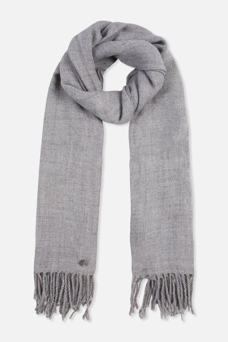 W20 Basic Scarf - Light Grey
