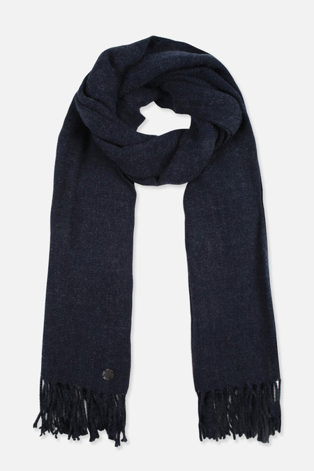 W20 Basic Scarf - Navy