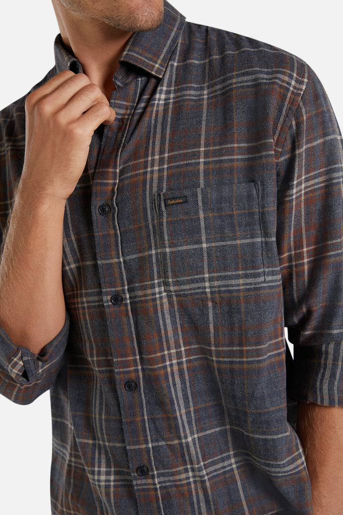 The Brunswick Shirt - Char/Brown
