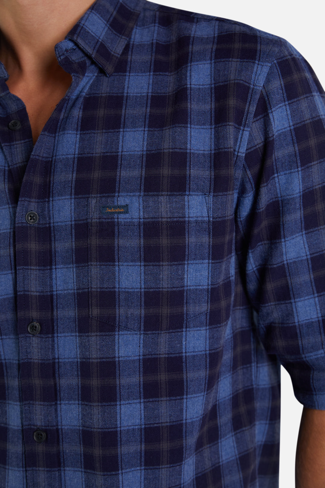The Kawan L/S Shirt - Navy Blue