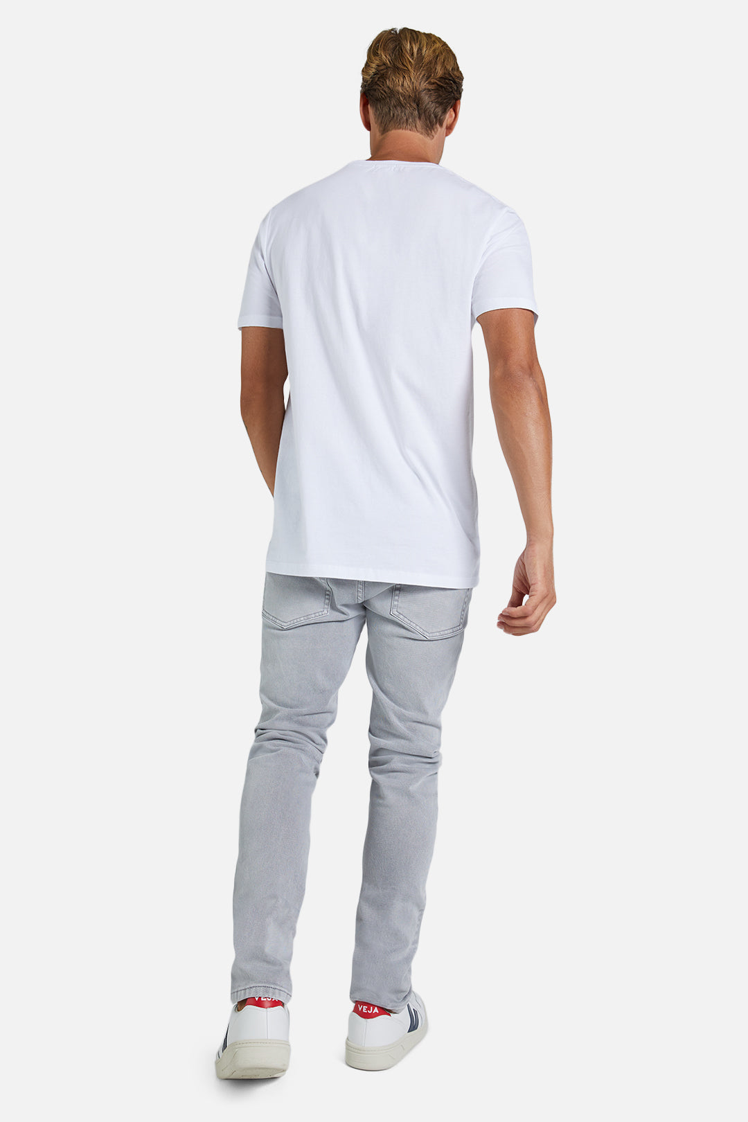 The Bedford Slim Jean - Light Grey