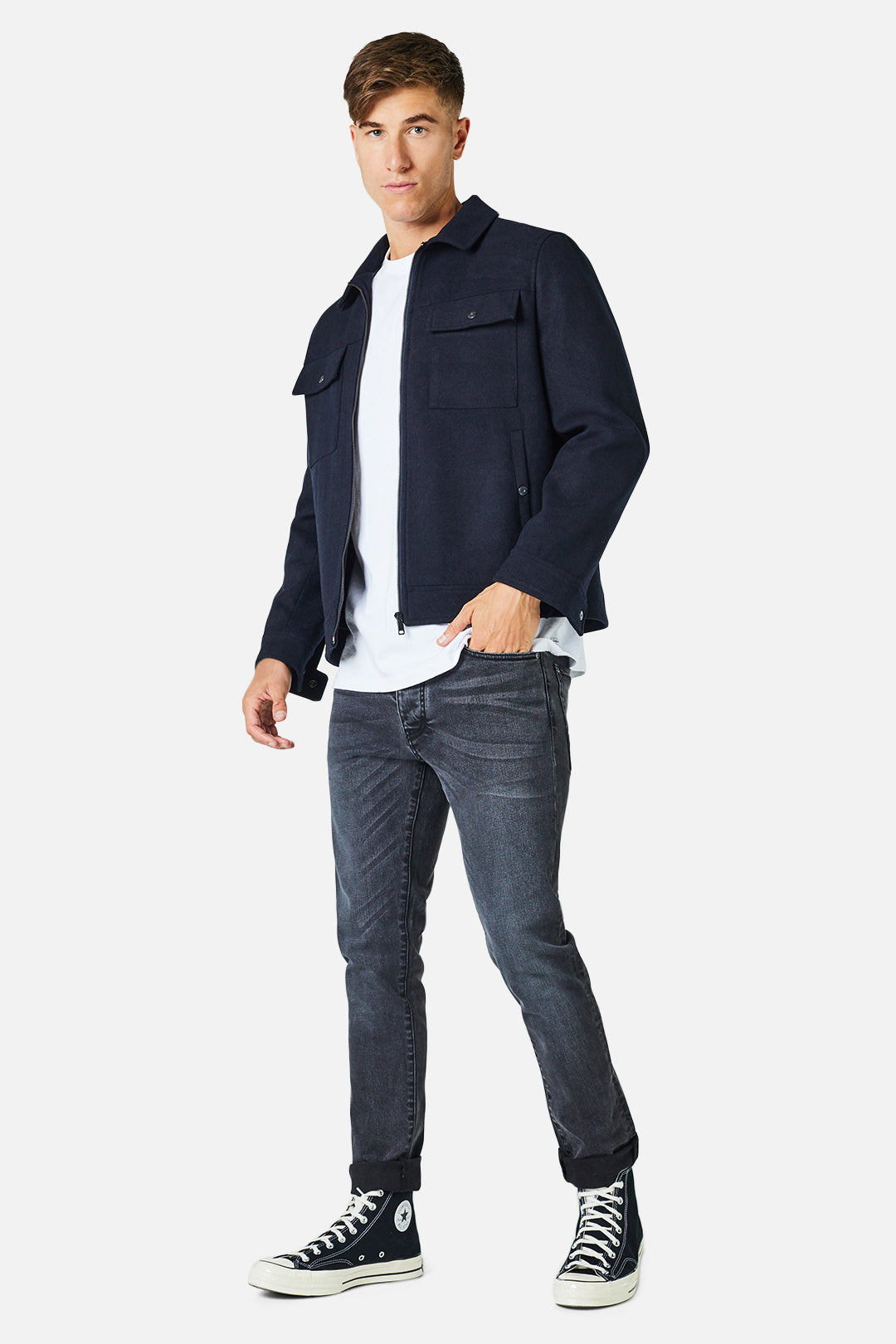 The Bristol Jacket - Dark Navy