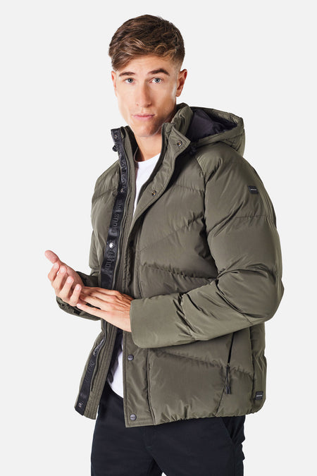 The Meribel Puffer Jacket - Jungle 20
