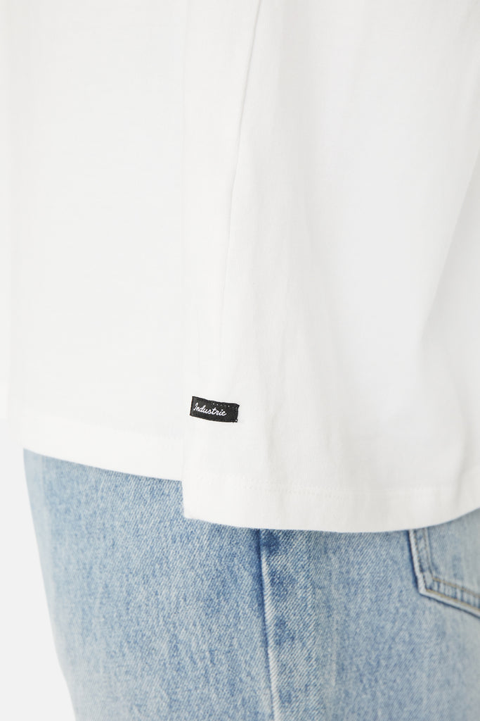 The Del Sur L/S Tee - White