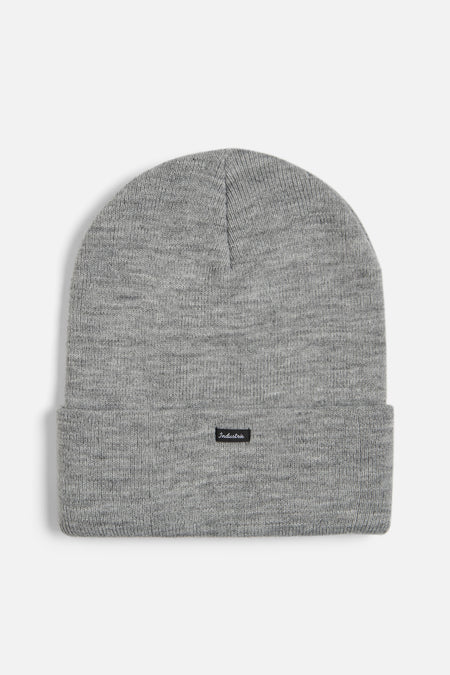 The Portland Beanie - Light Marle Grey