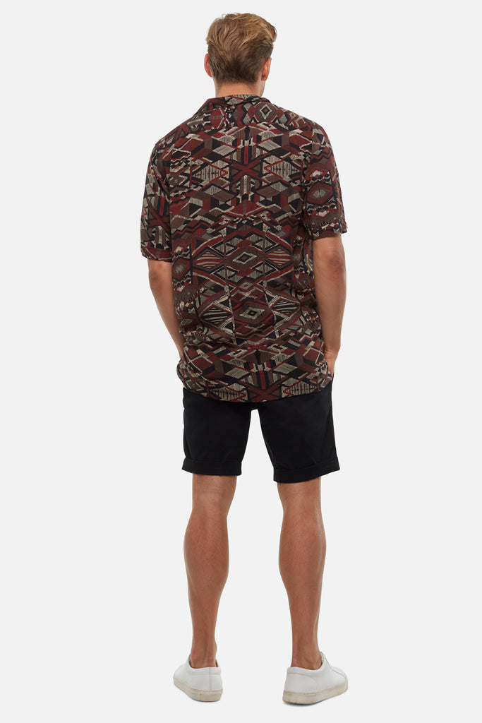 The Washed Cuba Short - Solid Black