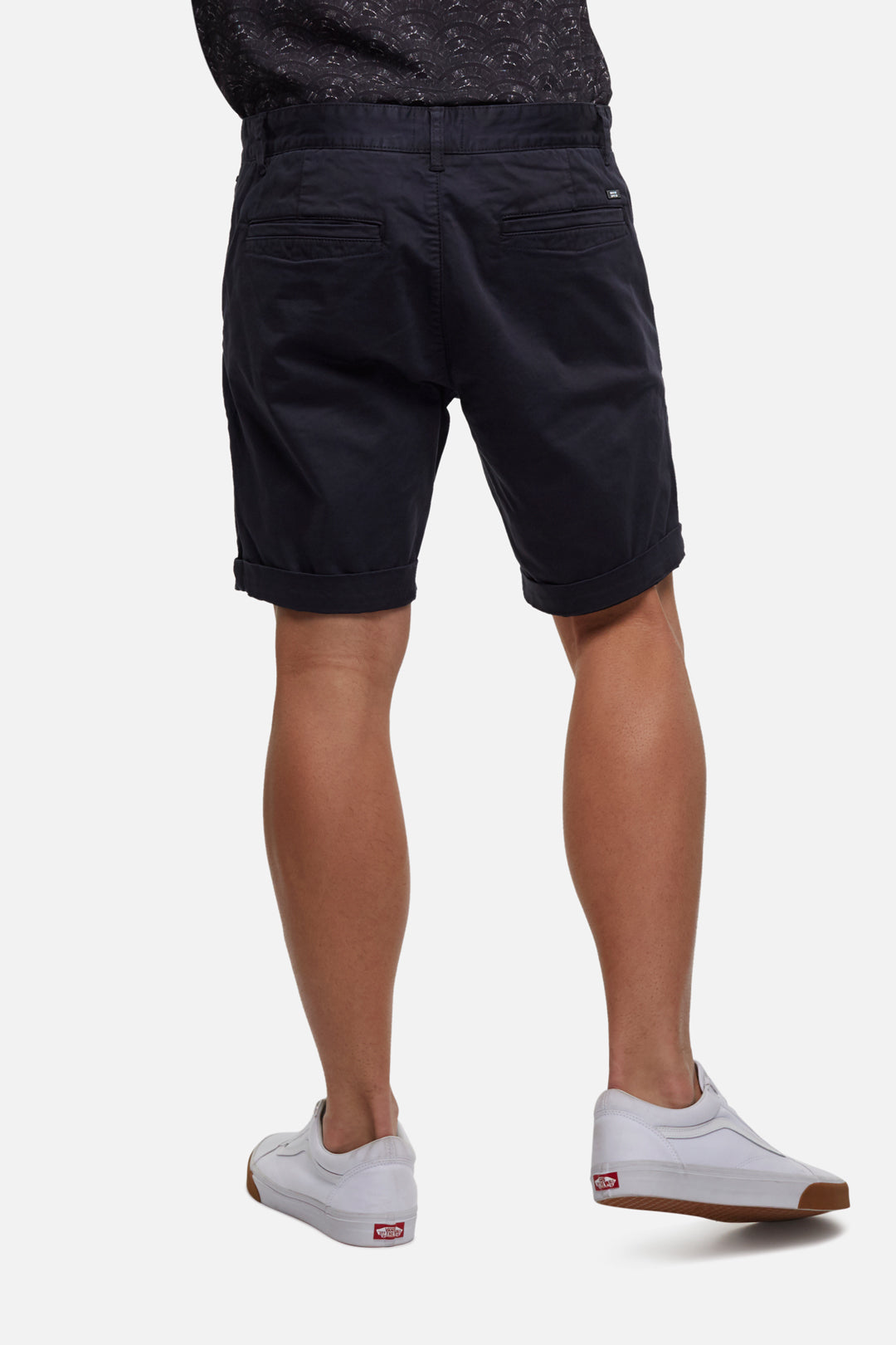 The Washed Cuba Short - Antique Navy