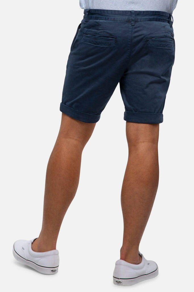 The Washed Cuba Short - Indigo