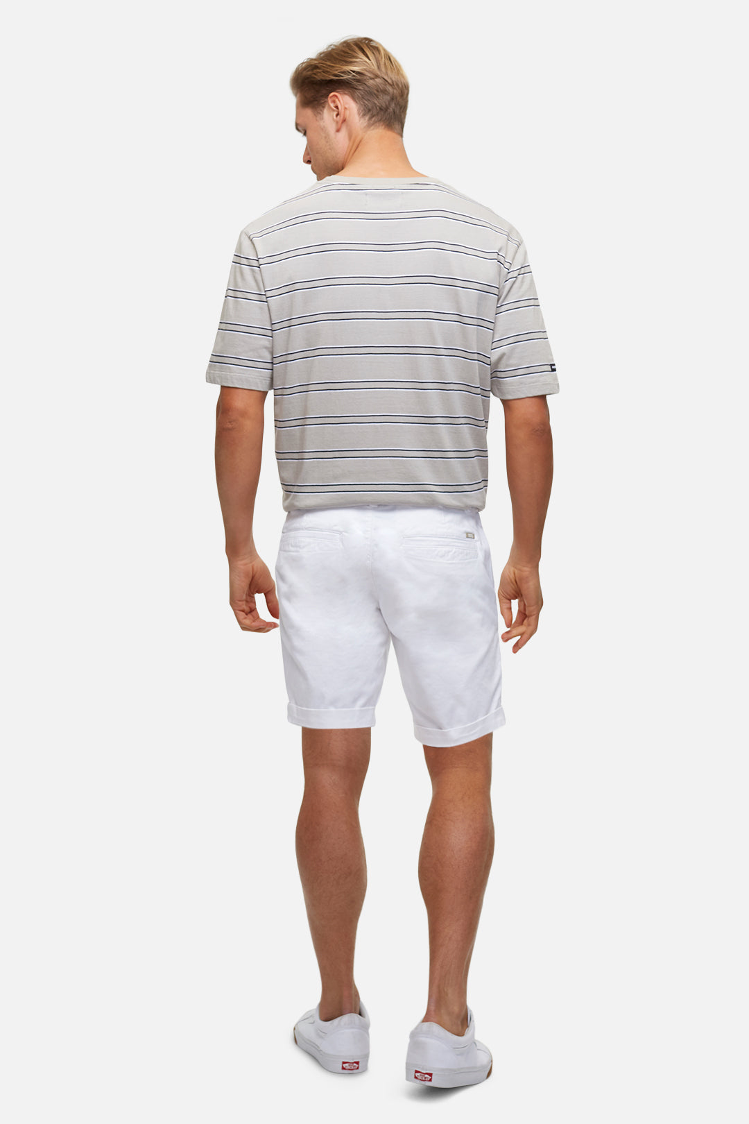 The Washed Cuba Short - White