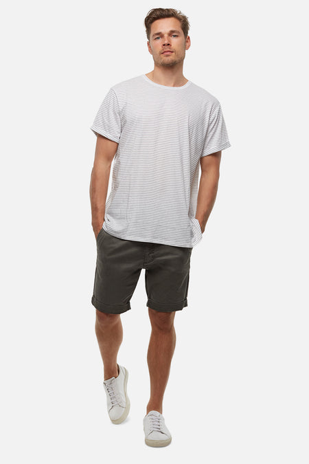 The Washed Cuba Short - Dark Sage