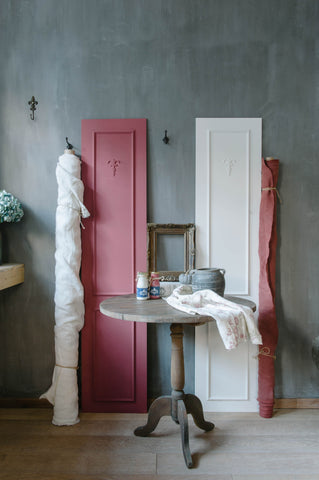 chalk paint tuscan red