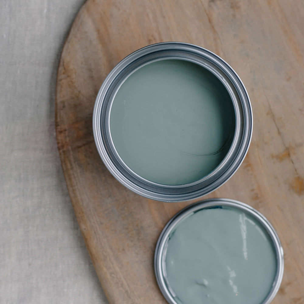 28. Misty Blue chalk paint