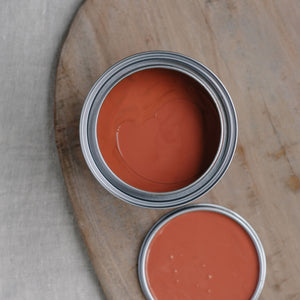 35. Library Red chalk paint