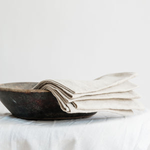 "Load image into Gallery viewer, Handmade linen napkin ""Garda Natural"""