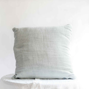 "Handmade Linen Cushion square ""Soothing 02"""