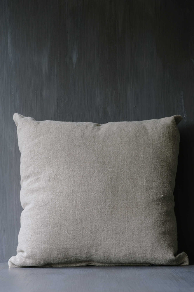 "Handmade Linen Cushion square ""Lucca 13"""