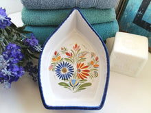 Load image into Gallery viewer, Boat Shaped Dish. Ceramic Boat. Sea Themed/Nautical Décor. Boat Shaped Soap Dish. Boat Soap Dish. Nautical Bathroom Accessory. Coastal Home.