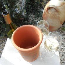 Load image into Gallery viewer, Rustic Terracotta 'Brique a Vin' (Wine Brick) Wine Cooler For Storing, Red, White & Rosé Wine at the Ideal Temperature. Wine Chiller.